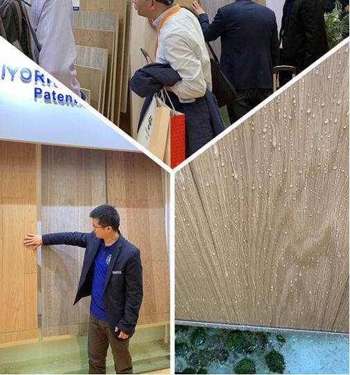 贝亚克携获得美国发明专利的两层结构木地板亮相上海地材展承德